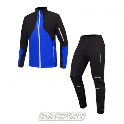 Разминочный костюм Noname On The Move 18 син/черный (фото)