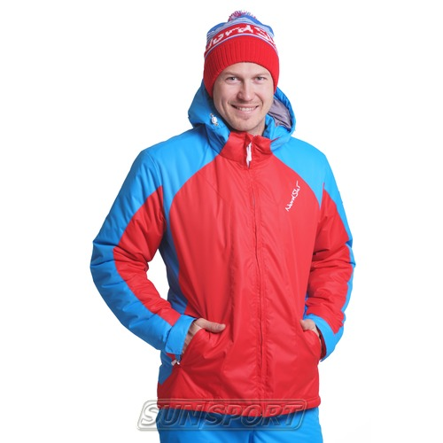 Утепленная куртка NordSki M National Red мужская (фото)