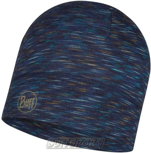 Шапка Buff Lightweight Merino Wool Hat Denim