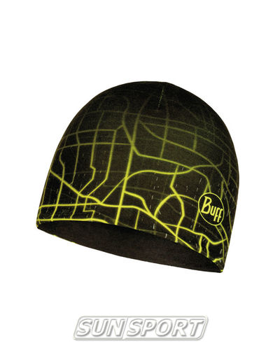 Шапка Buff Microfiber Reversible Hat R-Extent Black (фото)