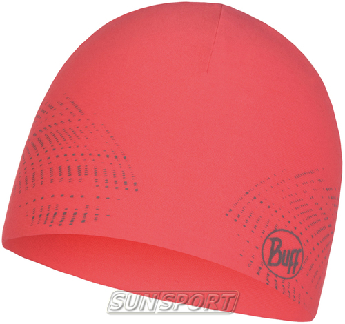 Шапка Buff Microfiber Reversible Hat R-Solid Coral Pink (фото)