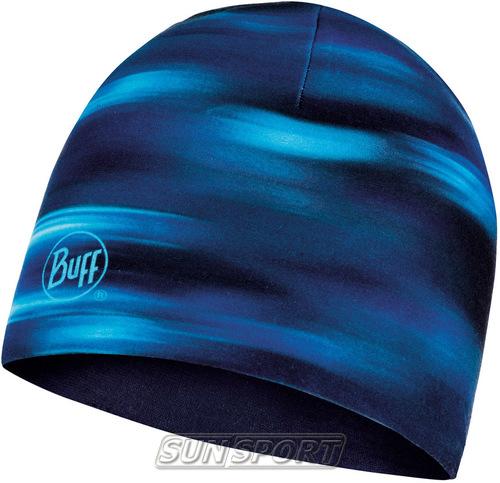 Шапка Buff Microfiber Reversible Hat Shading Blue (фото)