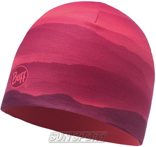 Шапка Buff Microfiber Reversible Hat Soft Hills Pink Fluor (фото)