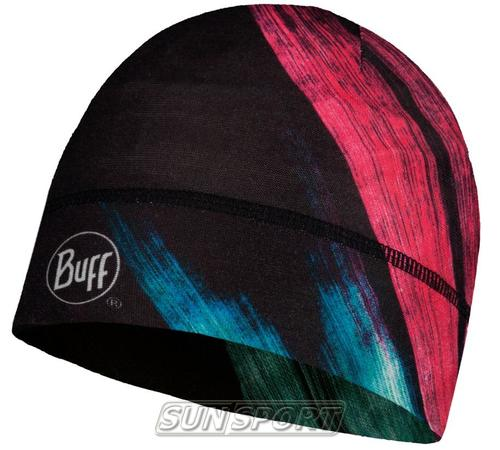 Шапка Buff Thermonet Hat Solar Wind Pink