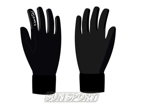 Перчатки NordSki Arctic черный (фото)