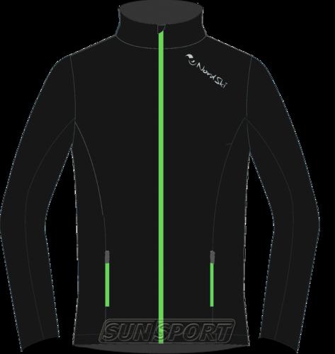 Разминочная куртка NordSki M Elite мужская черный (фото)