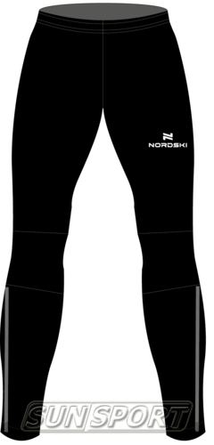 Разминочные штаны NordSki М Motion мужские черный (фото)