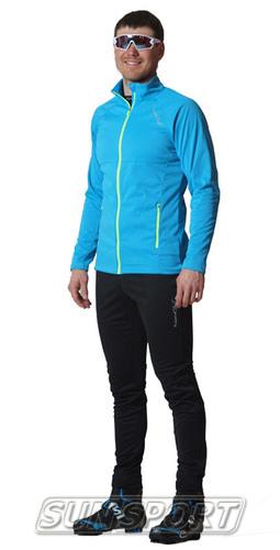 Разминочный костюм M Nordski SoftShell Motion голуб/черн (фото)