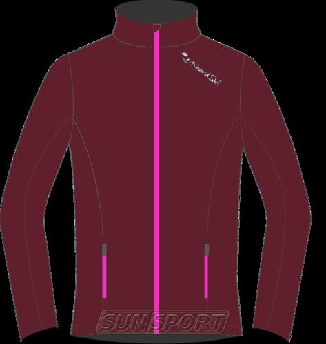 Разминочная куртка W Nordski Gore-Tex Elite wine (фото)