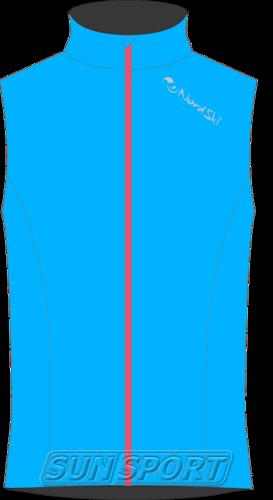 Жилет NordSki W Elite женский голубой (фото)