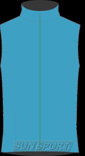 Жилет NordSki JR SoftShell Motion детский голубой (фото)