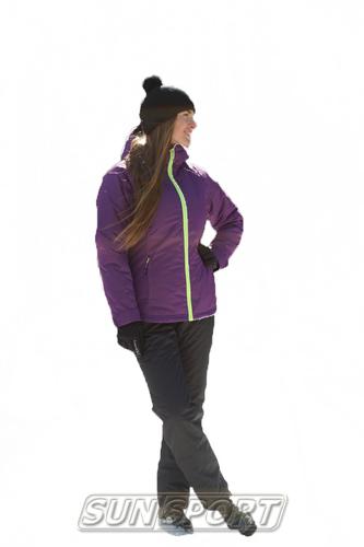Утепленный костюм JR Nordski Motion фиолет (фото)