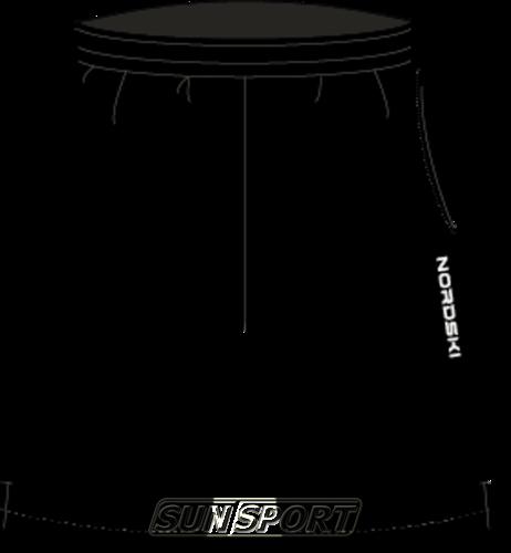 Шорты NordSki Light Black (фото)