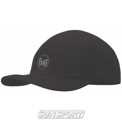 Кепка Buff Pack Run R-Solid Black (фото)
