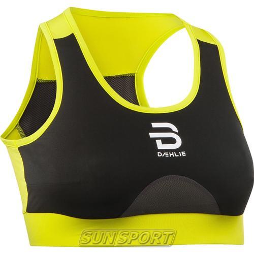 Топ спортивный BD Training Tech Wind Bra желтый (фото)