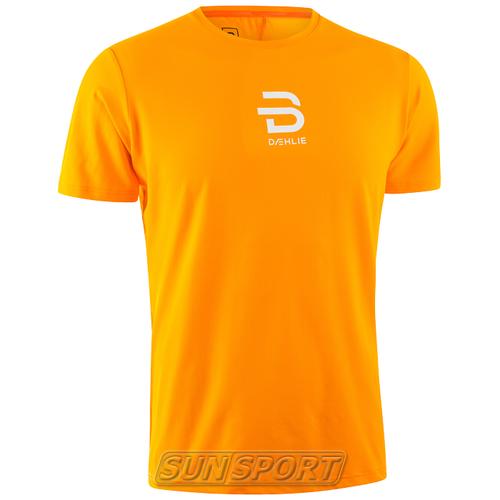 Футболка BD M T-Shirt Focus мужская оранжевый (фото)