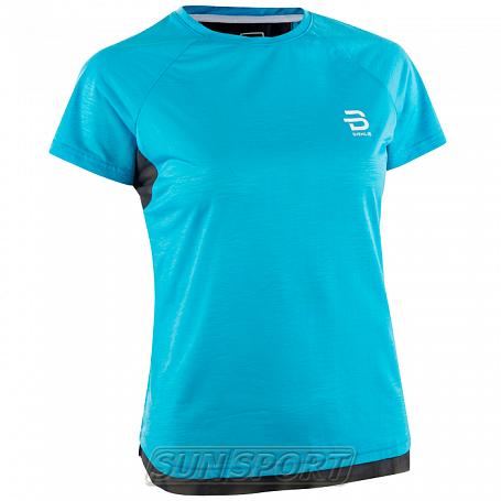Футболка BD W T-Shirt Oxygen женская голубой (фото)