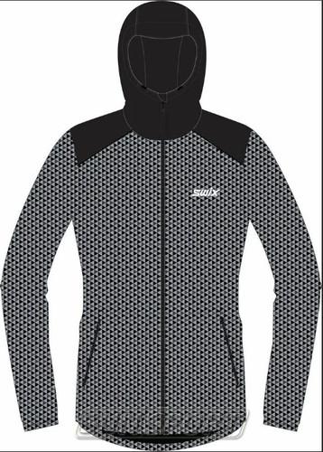Утепленная куртка Swix Novosibirsk мужская серый (фото)
