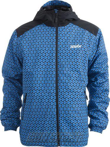 Утепленная куртка Swix Novosibirsk мужская синий (фото)