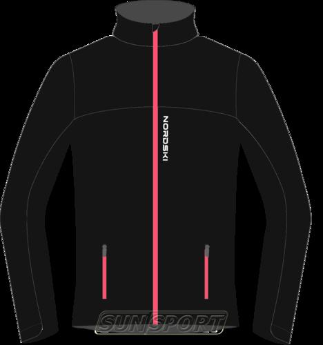 Разминочная куртка W Nordski Active SoftShell черн (фото)