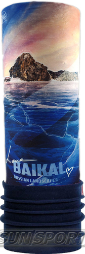 Бандана Buff Polar Lake Baikal/Night Blue