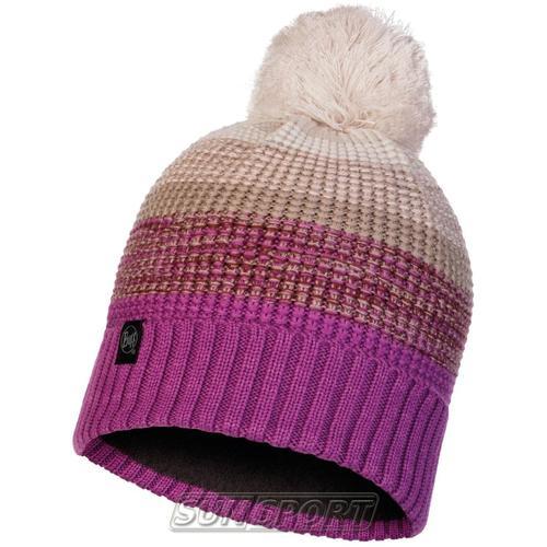 Шапка Buff Knitted&Polar Hat Alyona Mauve (фото)