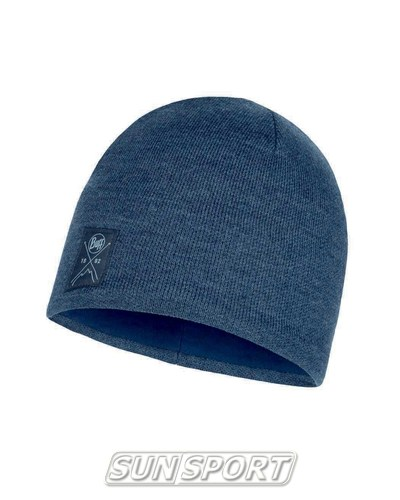 Шапка Buff Knitted&Polar Hat Solid Navy