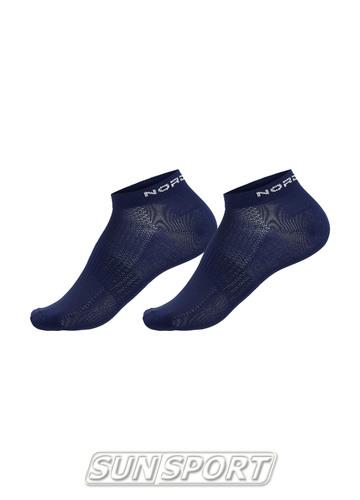 Носки комплект NordSki Run синий (фото)