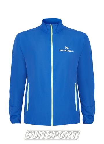 Куртка Тренировочная NordSki M Motion мужская васильковый (фото)