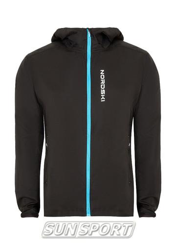 Куртка Тренировочная NordSki M Run мужская черный (фото)