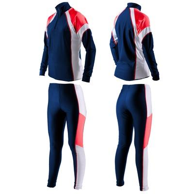 Комбинезон лыжный Sport365 т.син/крас/белый