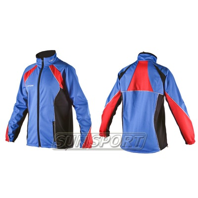 Куртка разминочная SunSport WS синяя