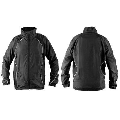 Куртка тренировочная Sport365 летняя бел/черный
