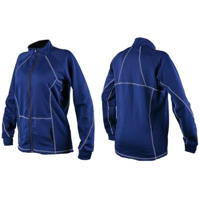 Куртка Sport365 трикотаж на молнии синяя