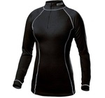Термобелье Рубашка Craft W Pro Zero на молнии женская черный