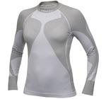 Рубашка термо Craft Pro Warm низ.ворот женская белый ®