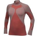 Рубашка термо Craft Pro Warm низ.ворот женская электрик