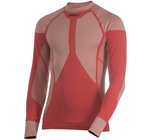 Рубашка термо Craft Pro Warm низ.ворот мужская красный