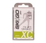 Парафин SkiGo CH XC (-7-20) green 60г