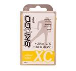 Парафин SkiGo CH XC (+20-1) glider yellow 60г