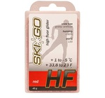 Парафин SkiGo HF (+1-5) red 45г