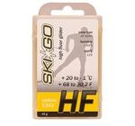 Парафин SkiGo HF (+20-1) yellow 45г