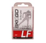 Парафин SkiGo LF (+1-5) red 60г