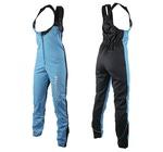 Штаны разминочные на лямках SunSport WS голубые ®