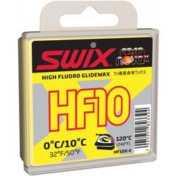 Парафин Swix HF10 (+10-0) yellow 40г