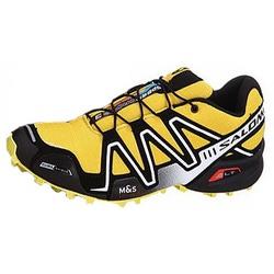 Кроссовки трейловые Salomon M Speed Cross 3 жёлт/чёрный