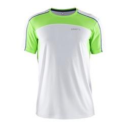 Футболка Craft Performance мужская бел/зел
