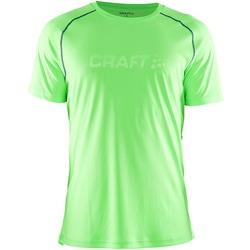Футболка Craft Active мужская зелен/атлант