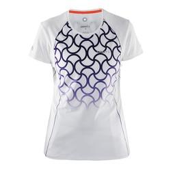 Футболка Craft W Focus Run Cool Sublimated женская бел/принт