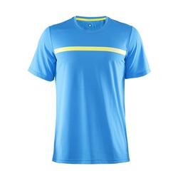 Футболка Craft Joy Run мужская гол/желт